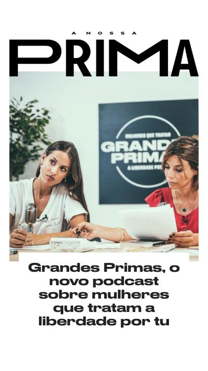 "Podcast ""Grandes Primas"""