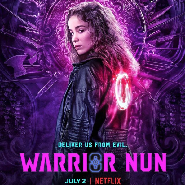 WARRIOR NUN - Netflix