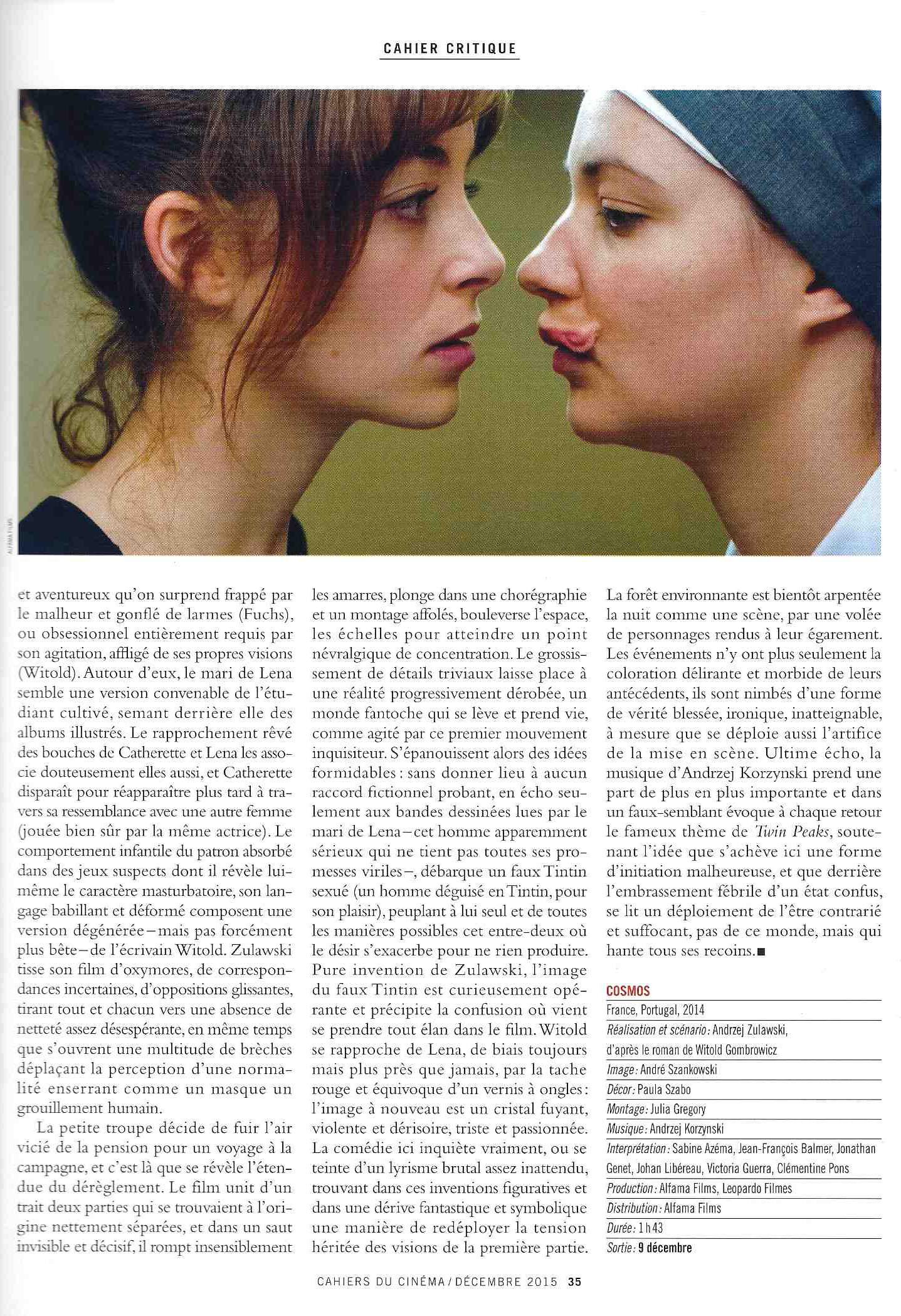 Cahier du Cinema